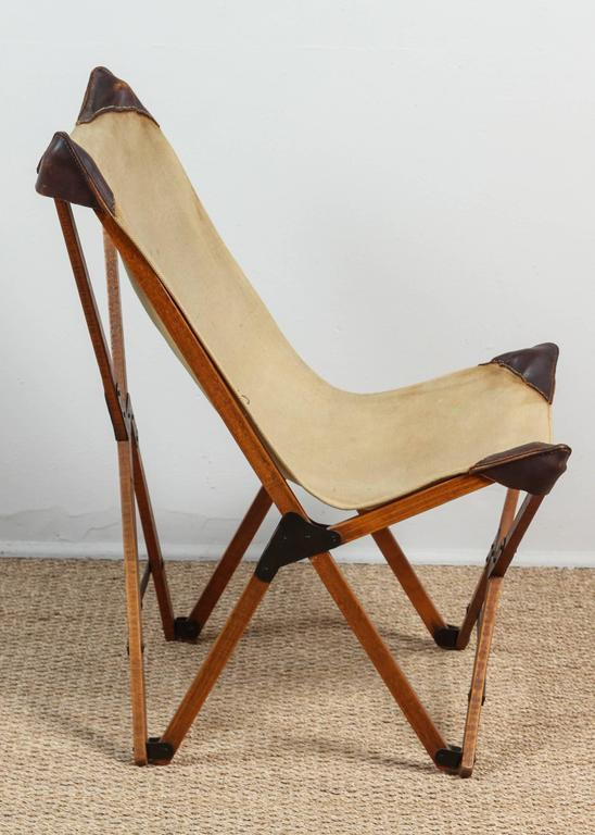 Ordinaire American Vintage Campaign Chair For Sale