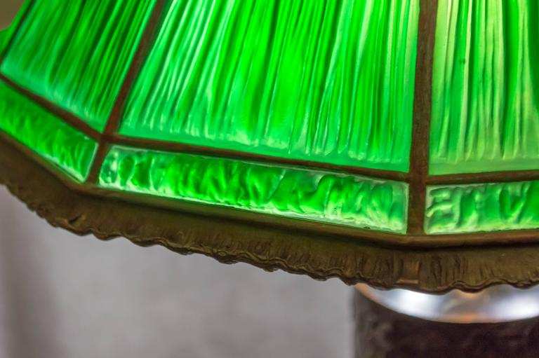 Tiffany Studios Linenfold Lamp At 1stdibs