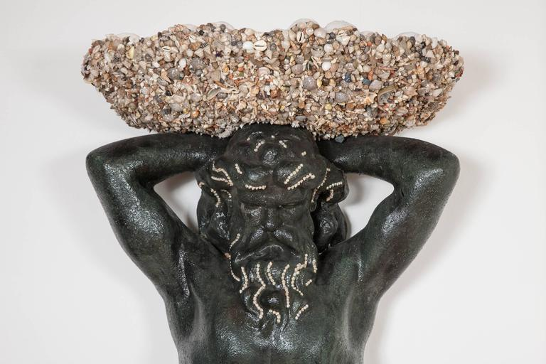 Late 20th Century 'Fountain of Neptune' Wall Sculpture by Anthony Redmile For Sale