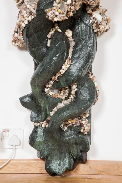 'Fountain of Neptune' Wall Sculpture by Anthony Redmile In Excellent Condition For Sale In London, GB