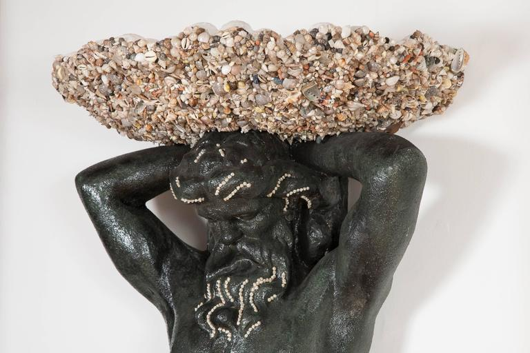 'Fountain of Neptune' Wall Sculpture by Anthony Redmile For Sale 2