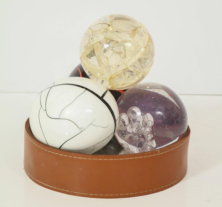 Four fractal resin objects by Marie Claude de fouquieres. $950 each