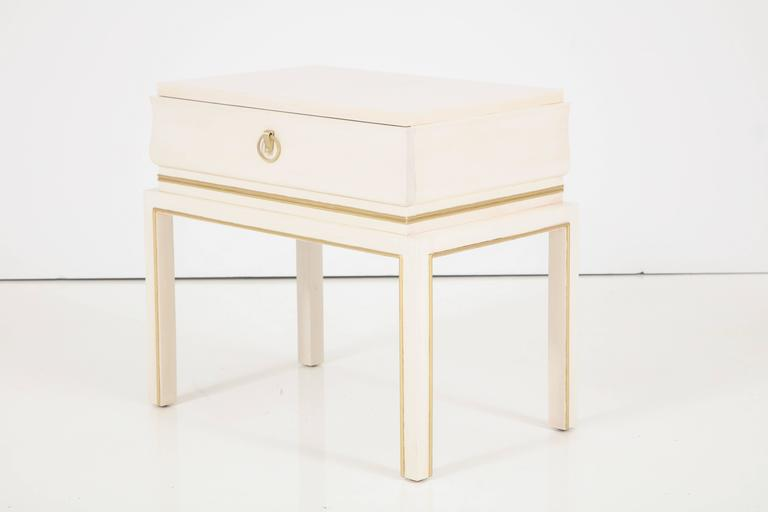 Tommi Parzinger Bleached Maple Nightstands 3