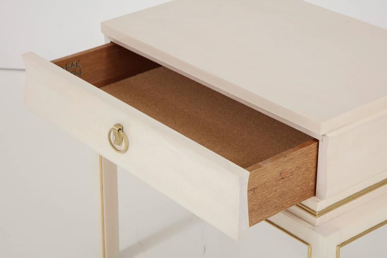 Tommi Parzinger Bleached Maple Nightstands 4