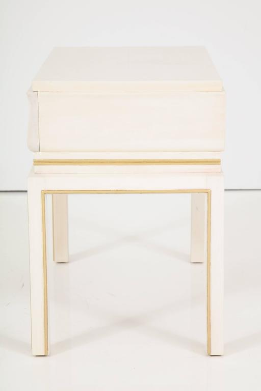 Tommi Parzinger Bleached Maple Nightstands 5