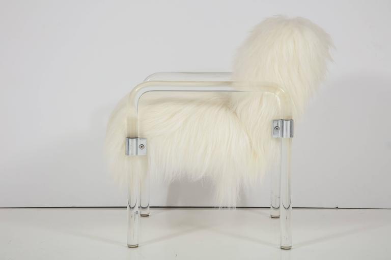 Modern Jeff Messerschmidt Lucite Armchairs For Sale