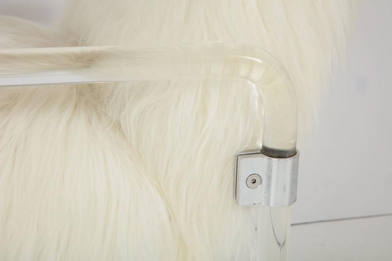 American Jeff Messerschmidt Lucite Armchairs For Sale