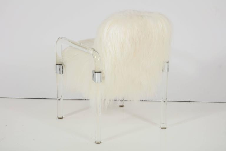 Jeff Messerschmidt Lucite Armchairs In Excellent Condition For Sale In New York, NY