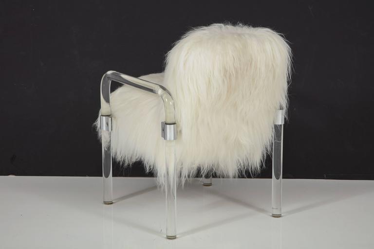 20th Century Jeff Messerschmidt Lucite Armchairs For Sale