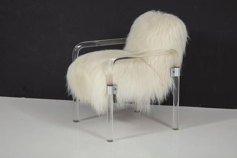 Jeff Messerschmidt Lucite Armchairs For Sale 1
