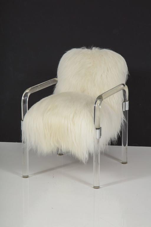 Jeff Messerschmidt Lucite Armchairs For Sale 2