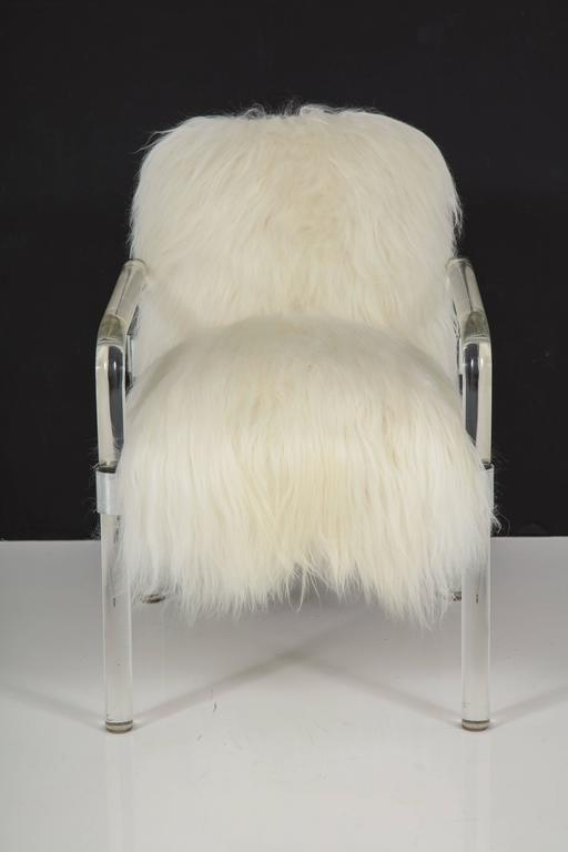 Jeff Messerschmidt Lucite Armchairs For Sale 3