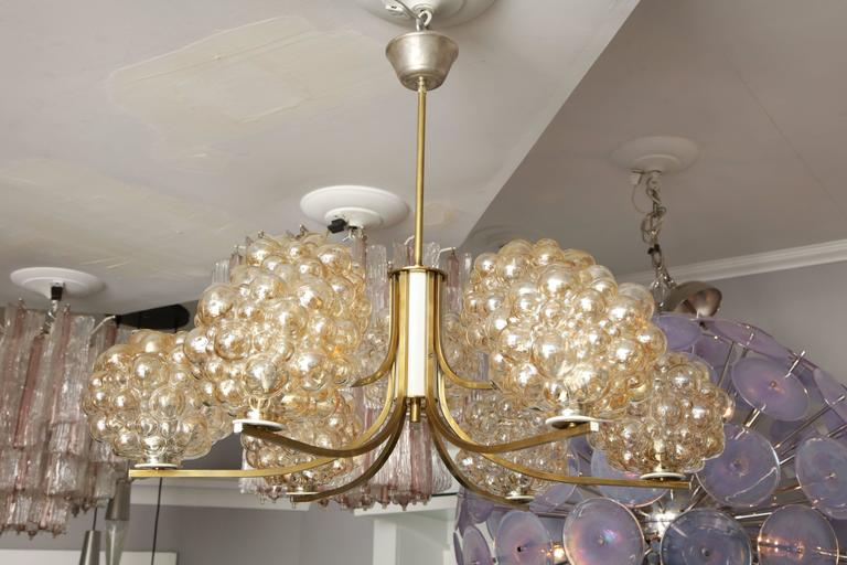 German Vintage Limburg Chandelier by Helena Tynell For Sale