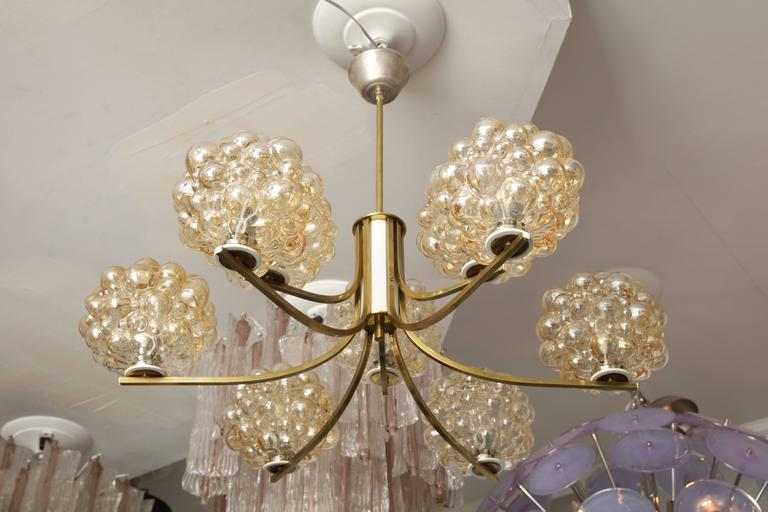 Vintage Limburg Chandelier by Helena Tynell In Excellent Condition For Sale In New York, NY
