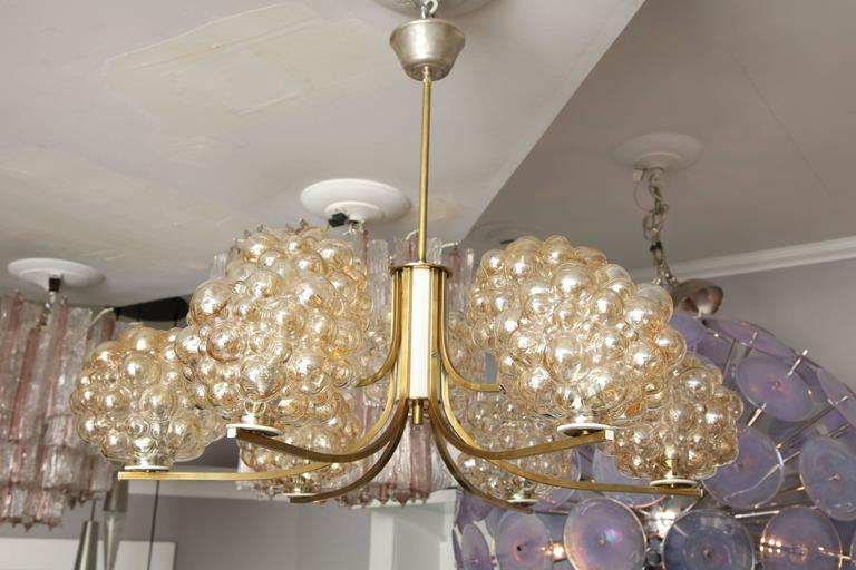 Mid-20th Century Vintage Limburg Chandelier by Helena Tynell For Sale