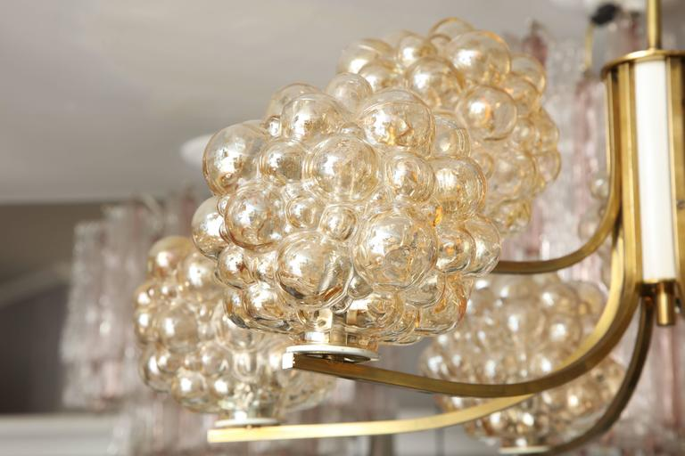 Brass Vintage Limburg Chandelier by Helena Tynell For Sale