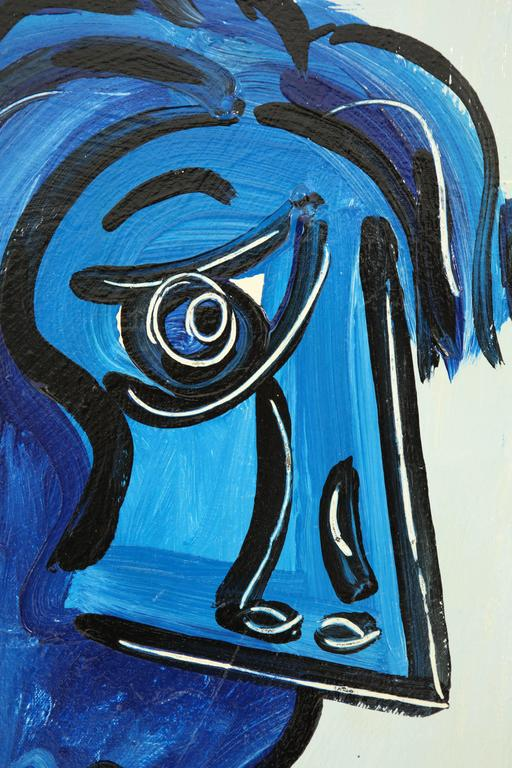 Painting by Peter Keil, circa 1959, Offered by Area ID 4