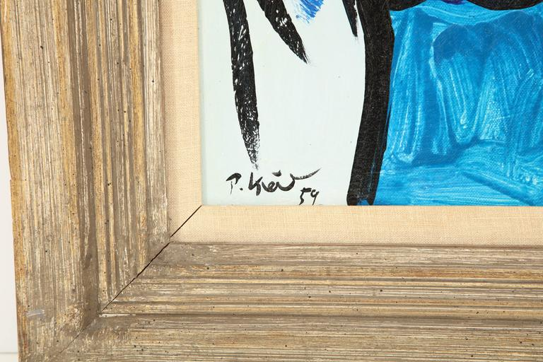 Painting by Peter Keil, circa 1959, Offered by Area ID 7