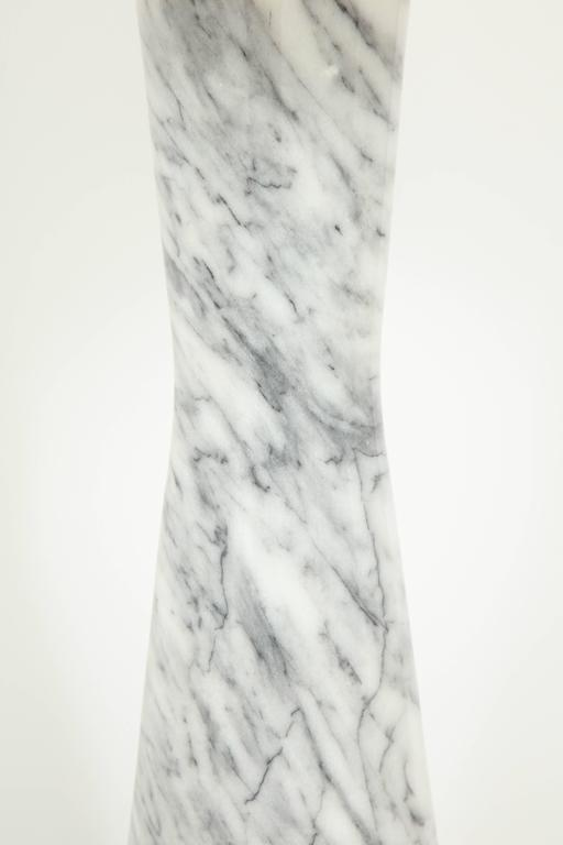 Grey Marble Table Lamp For Sale 5