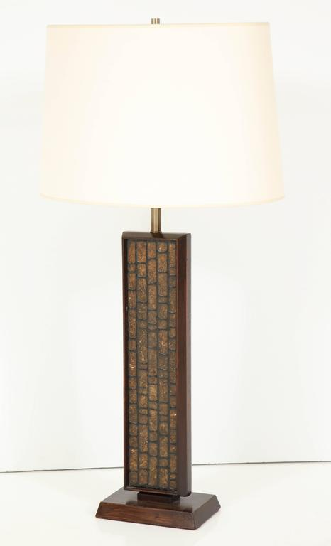 Tall Walnut Table Lamp 5