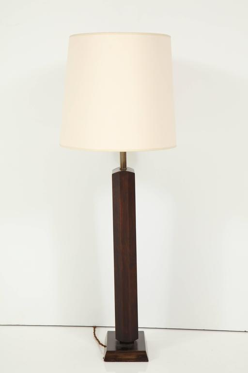 Tall Walnut Table Lamp 6