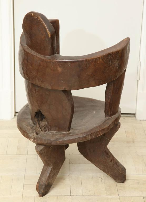 Early 20th Century Abstract Chair For Sale At 1stdibs