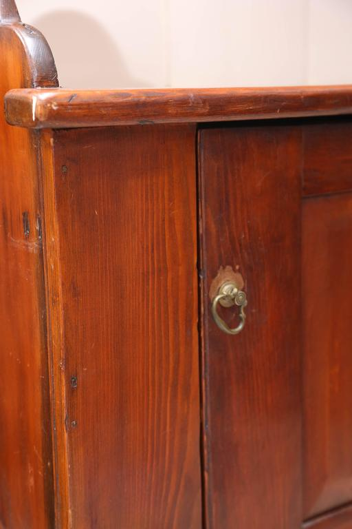 Superb 1800's  American Pewter Cupboard For Sale 3