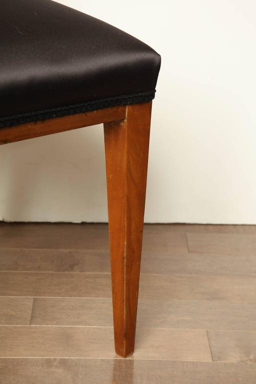 Biedermeier Austrian Walnut Side Chair For Sale