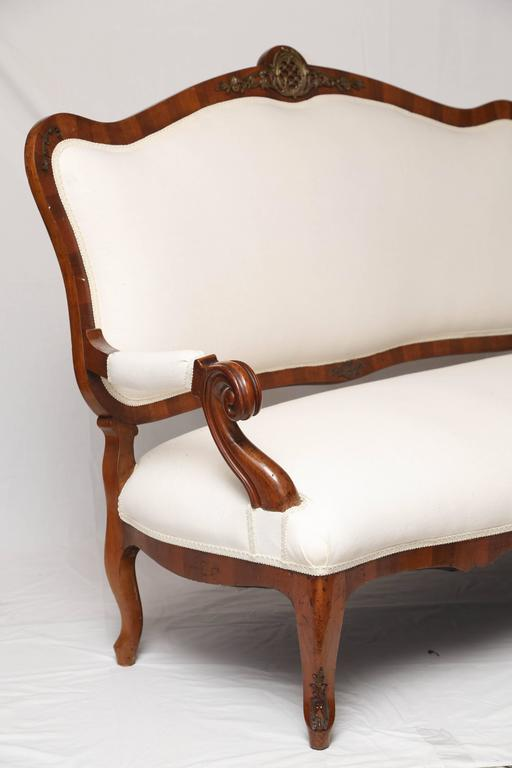 Superb French 19th Century Loveseat For Sale 2
