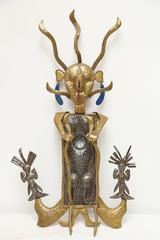 Danbala Sculpture by Eugene Jacques