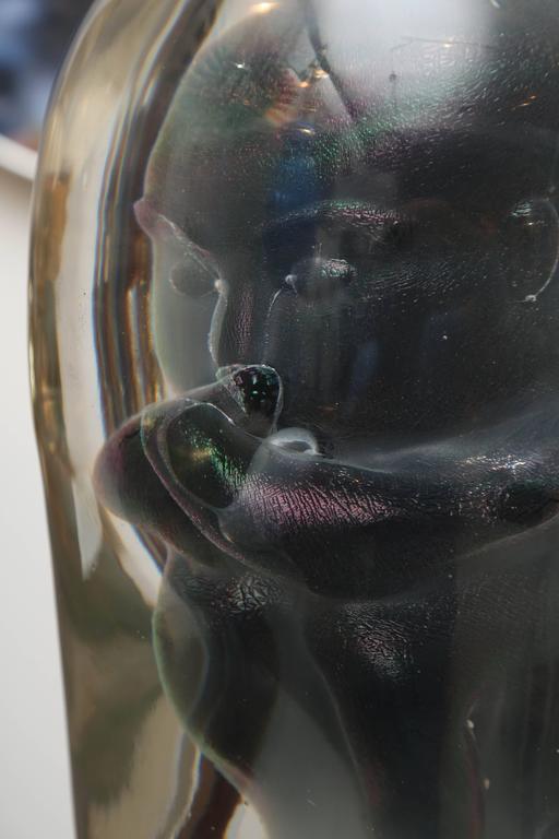 Bizarre Murano Glass Encased Fetus 3