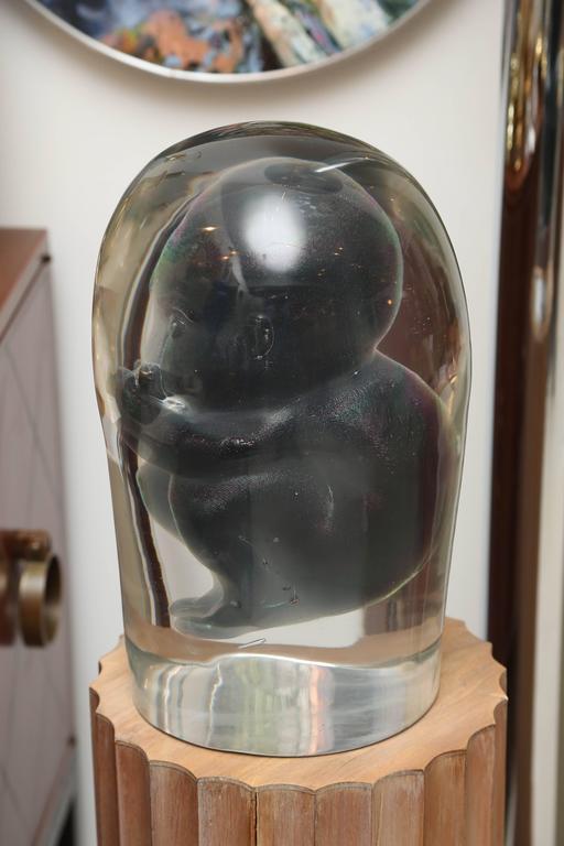 Bizarre Murano Glass Encased Fetus 9