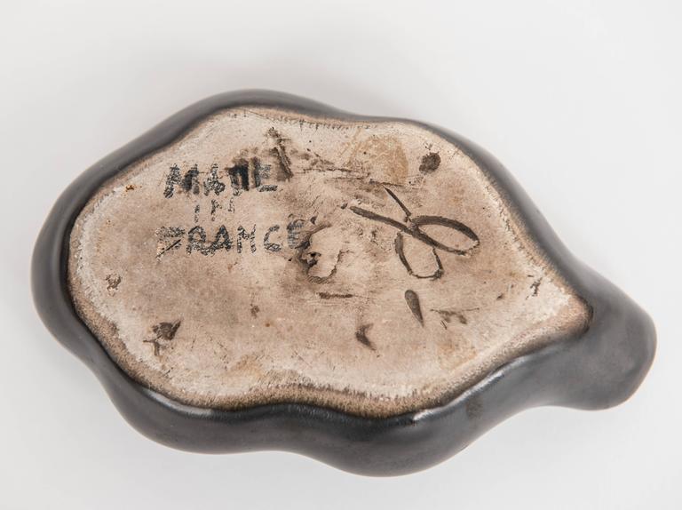 Georges Jouve Ceramic ''Feuille'' Dish 3