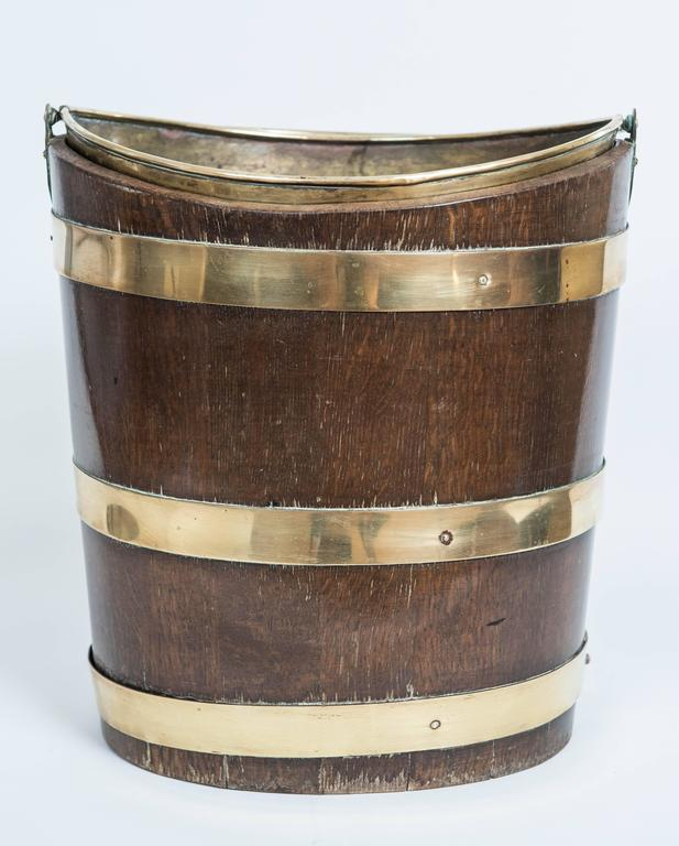 Great Britain (UK) 19th Century Peat Bucket For Sale