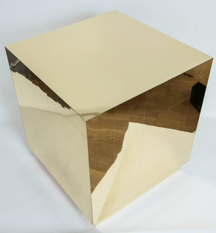 Contemporary Metal Cubes in the Manner of Paul Evans 5