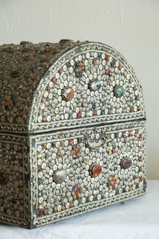 Large Moroccan Treasure Chest For Sale 1