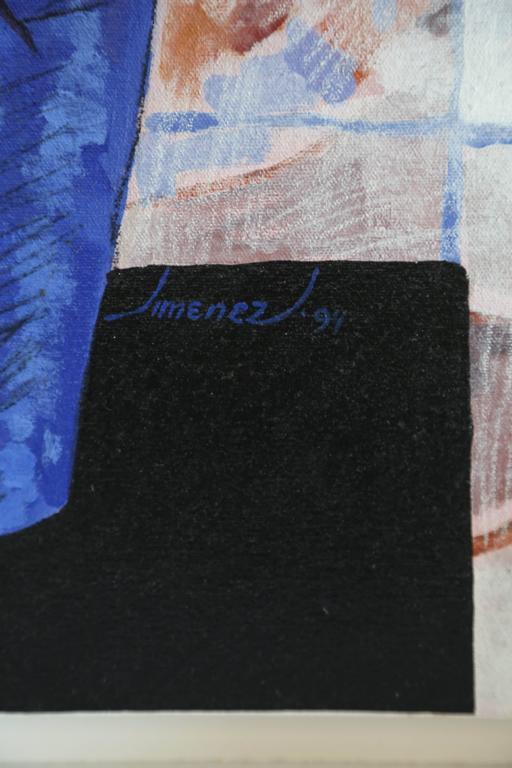 20th Century Original Painting Titled