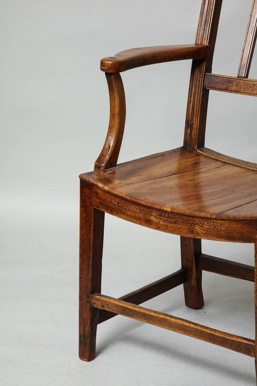 East Anglian Fruitwood Armchair 3