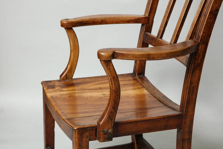 East Anglian Fruitwood Armchair 7