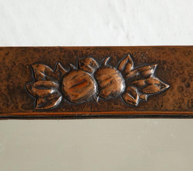 Arts & Crafts Copper Mirror 3