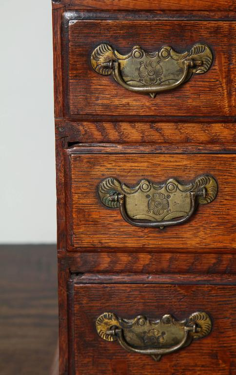 Great Britain (UK) Rare Miniature Welsh Tall Chest For Sale
