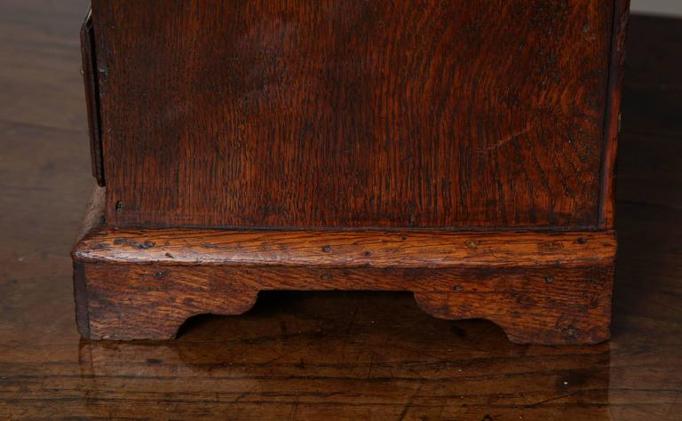 Rare Miniature Welsh Tall Chest For Sale 1