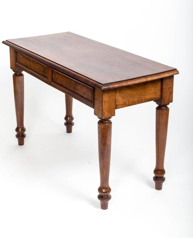 19th Century English Mahogany Serving Table For Sale 2