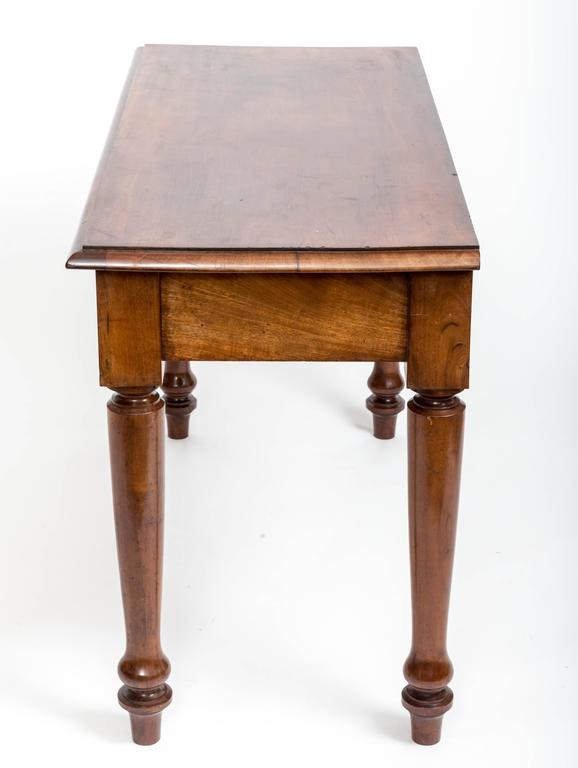 19th Century English Mahogany Serving Table For Sale 3