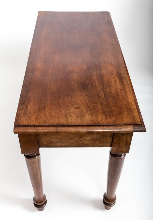 19th Century English Mahogany Serving Table For Sale 6