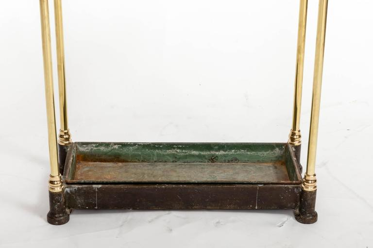 19th Century Brass Umbrella Stand, England, circa 1860 For Sale 1