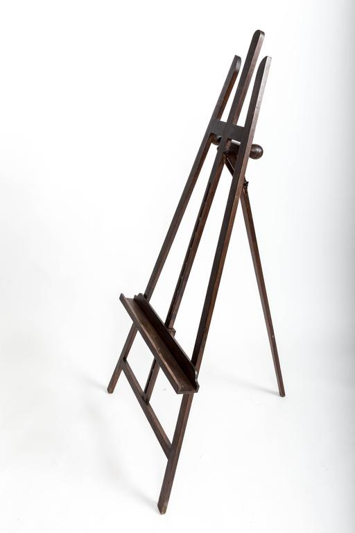 Early 20th Century Turn-of-the-Century Picture Easel, France, circa, 1900 For Sale