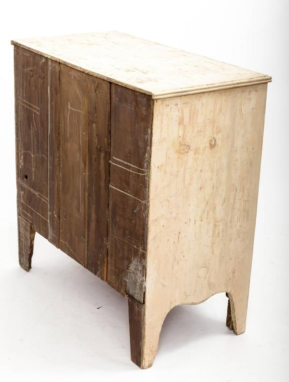 Mid-19th Century Early 19th Century Painted Chest Original Paint, England, circa 1840 For Sale
