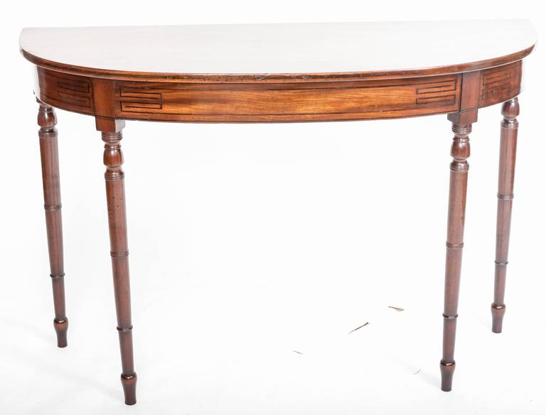 Early 19th Century Regency Hall Console Table, England, circa 1820 2