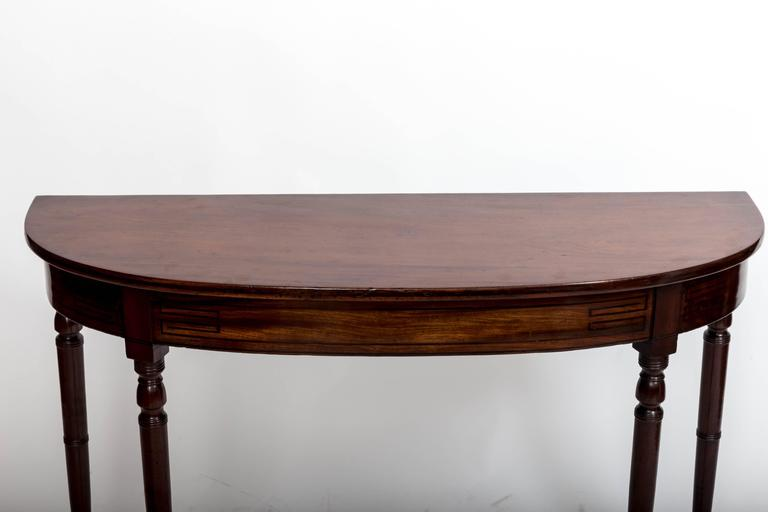 English Early 19th Century Regency Hall Console Table, England, circa 1820 For Sale